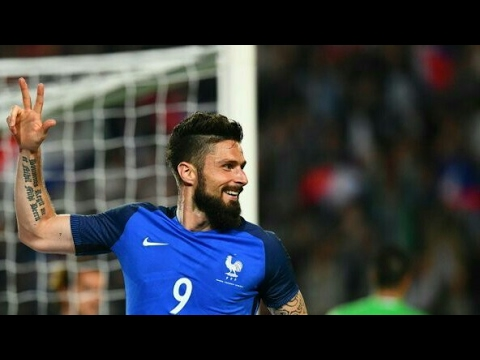 Hat-Trick Olivier Giroud - France vs Paraguay (5-0)