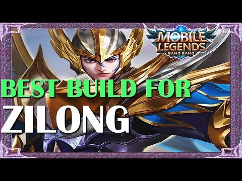 Mobile Legends Best Build In Any Situation For Zilong | Mythical Academy # 1