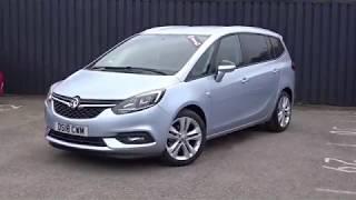 DS18CWM Vauxhall Zafira 1.4 16V SRi Nav Mpv