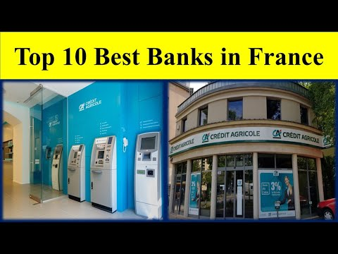 Top 10 Best Banks in France