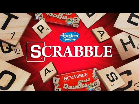 HASBRO'S SCRABBLE & NATIONAL SCRABBLE DAY!!! | A Toy Insider Play by Play