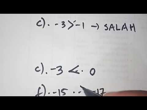 cara-mudah-menyelesaikan-soal-membandingkan-bilangan-bulat-kelas-7-smp-#2-#carapraktis-#caracepat
