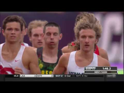 2016 NCAA Outdoor Track and Field Championships Semifinals Men 1500 Heat 1