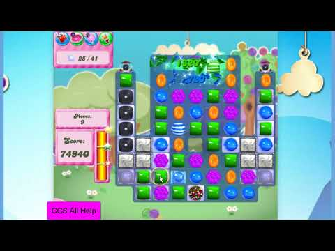 Candy Crush Saga Level 2813 NO BOOSTERS Cookie