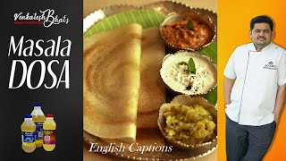 venkatesh bhat makes Masala Dosa | masala dosa recipe in tamil | masala thosai recipe | Masala Dosai