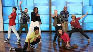 Ellen and Michelle Obama Break It Down(The two had a dance-off for the history books!, 2015-03-13T21:00:01.000Z)