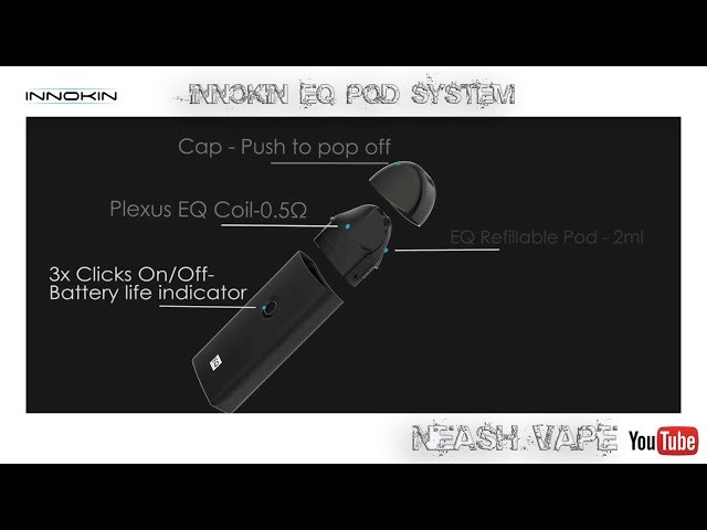 Innokin EQ Pod System - Review and Thoughts