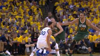 Stephen Curry Shakes His Defender with Great Handles | May 2, 2017