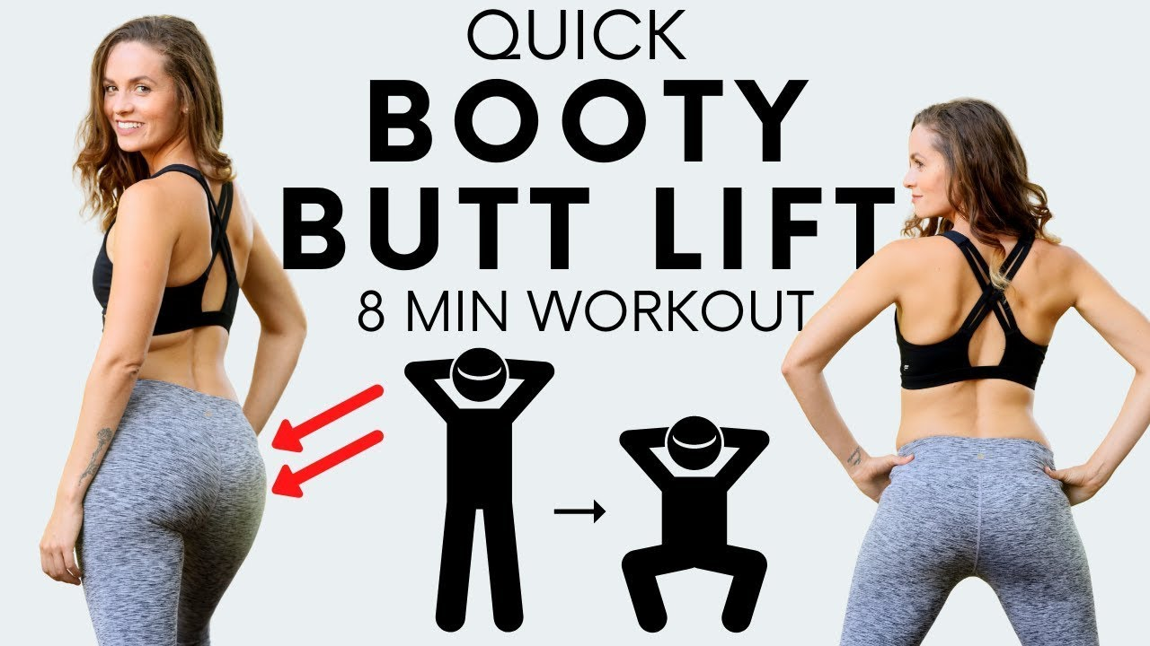 Quick! Fit Booty Butt Lift | Shape and Tone your Butt 🍑, Glutes No Equipment
