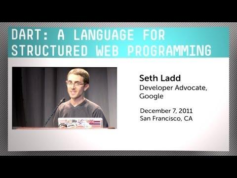 Dart, Google's Programming Language for Web