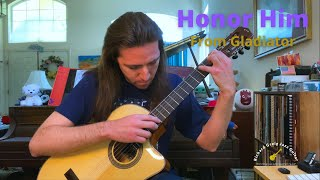 Honor Him (from Gladiator) - guitar arrangement by Richard Greig