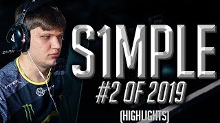s1mple - 2nd Best Player In The World - HLTV.org's #2 Of 2019 (CS:GO)