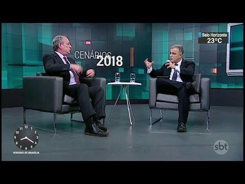 Ciro Gomes é entrevistado com exclusividade para o 'Cenários 2018'