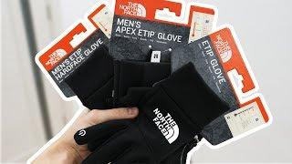 Зимние перчатки The North Face | Какие выбрать? | Обзор зимних перчаток The North Face | Lishop