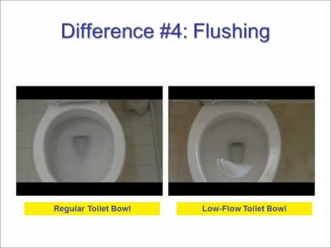 Low Flow And Regular Toilets The Differences Revealed