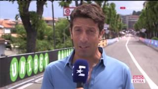 Велоспорт Джиро дИталия 13-й этап 1 часть