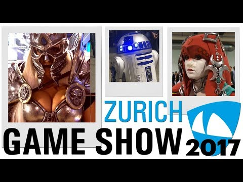 ZÜRICH GAME SHOW 2017 | Games, Cosplay & Co. | Meine Highlights! | Ländle Gamer