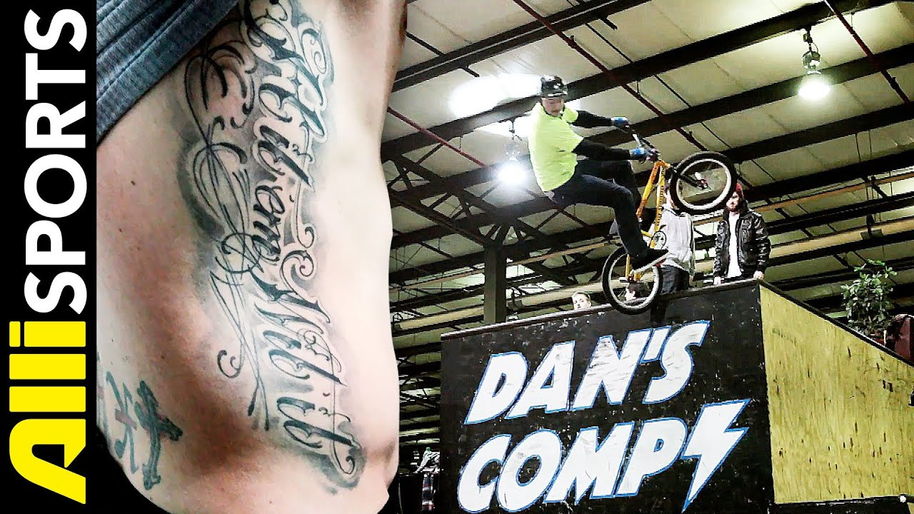 pat big daddy laughlin bmx tattoo youtube