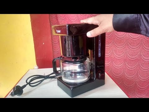 Prestige 6 Cup Coffee/Tea Maker Machine Hands On & Review
