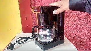 Prestige 6 Cup Coffee/Tea Maker Machine Hands On & Review