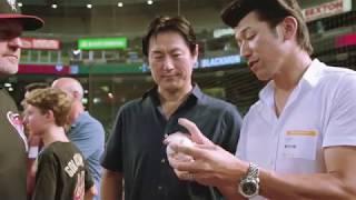 """2016年に、横浜一筋25年の選手生活を終えた、""""ハマの番長""""三浦大輔氏。 ..."""