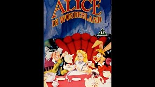 Digitized opening to Alice in Wonderland UK VHS - version 2