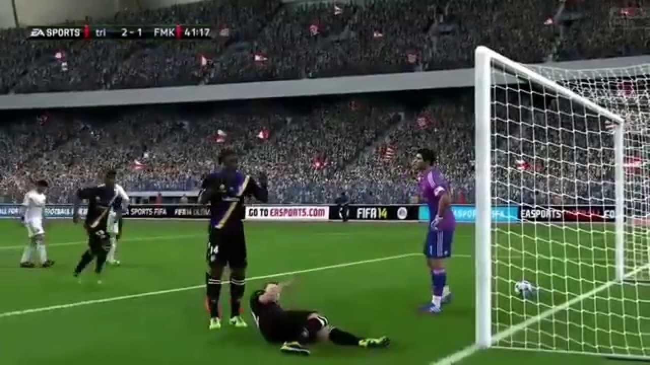 Fifa 14 Ultimate team Gols