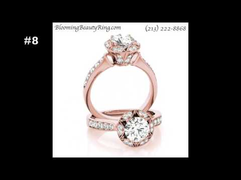 16 Unique Rose Gold Engagement Rings