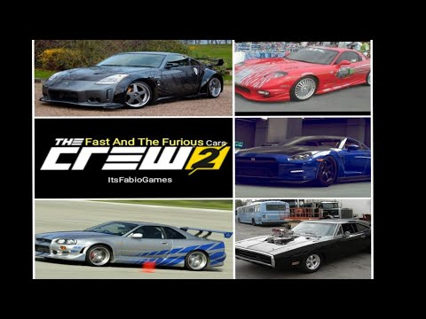 The Crew 2 The Fast And The Furious Garage Tour  