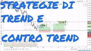 Strategie di Trend e Contro Trend: 2 Esempi Reali sul Forex (EURUSD e EURAUD)