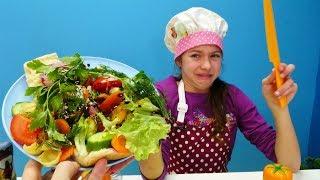 Работа для Полен - Повар в ресторане - Видео для девочек с Барби
