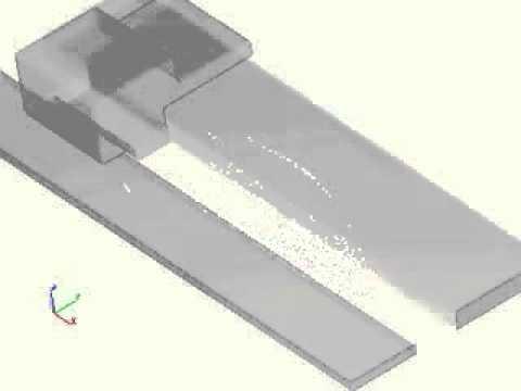 Simulation of an Inkjet Printhead - CFD Software