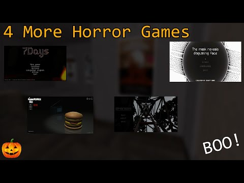 4 More Horror Games (Halloween Special)