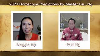 2021, Year of Metal OX, Zodiac Prediction, Ox people, Feng Shui Master, Paul Ng, Toronto, Canada