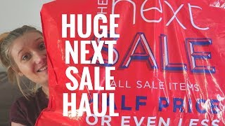 Huge Next Sale Haul Baby Girls Clothes   Kate Stutter