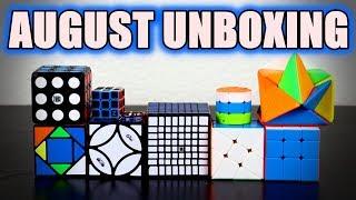 August Unboxing | Cubeorithms (SpeedCubeShop)