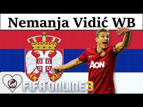 "I Love FO3 | Nemanja Vidic WB Review Fifa Online 3 New Engine 2016: ""CHIẾN BINH"" Vidic World Best"