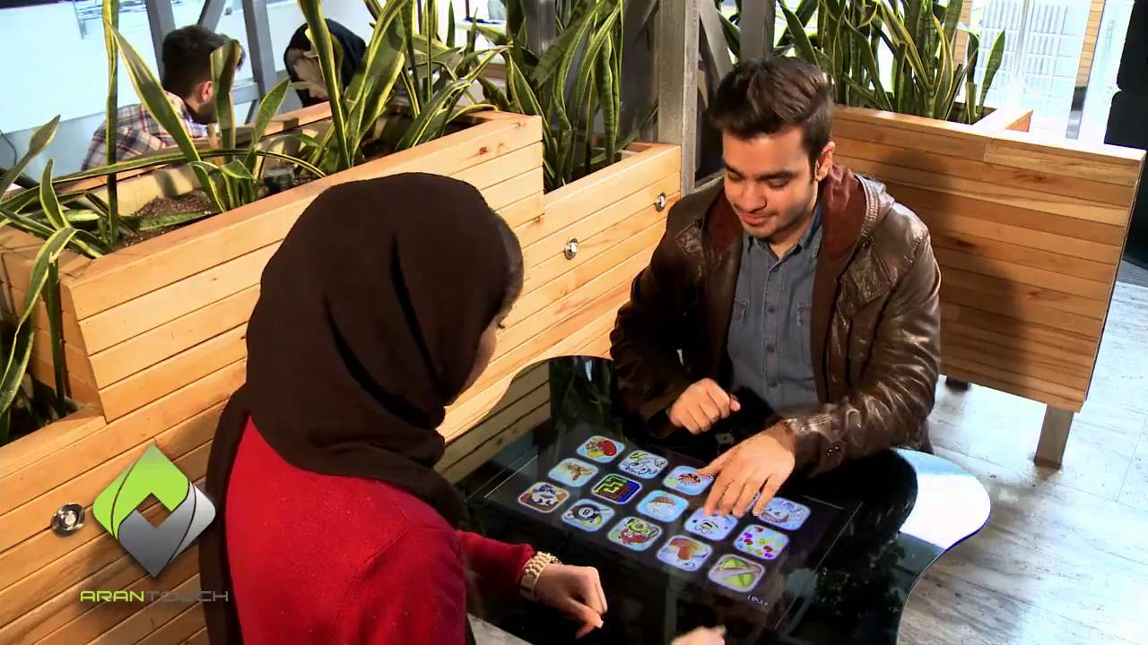 Smart Restaurant Table AranTouch - Restaurant table games