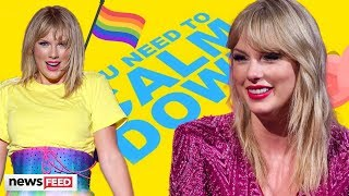 Taylor Swift Takes A JAB at Politics And Celebrates Pride In New Song!