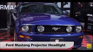 2005-2009 Ford Mustang LED Halo Projector Headlights Spyder Auto Installation Instructions