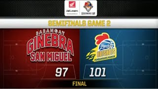 PBA Governors' Cup 2018 Highlights: Magnolia vs Ginebra Semifinals Game 2 Nov 12, 2018