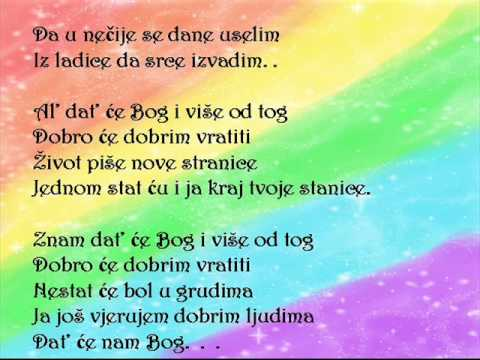 Dat' ce nam Bog Nina Badric lyrics + Download link