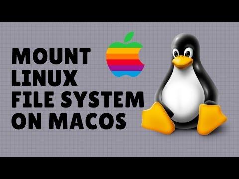 Mount Linux Server File System on macOS Sierra GUI Finder