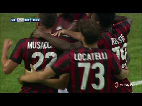 Party time at San Siro: 2-0 and we