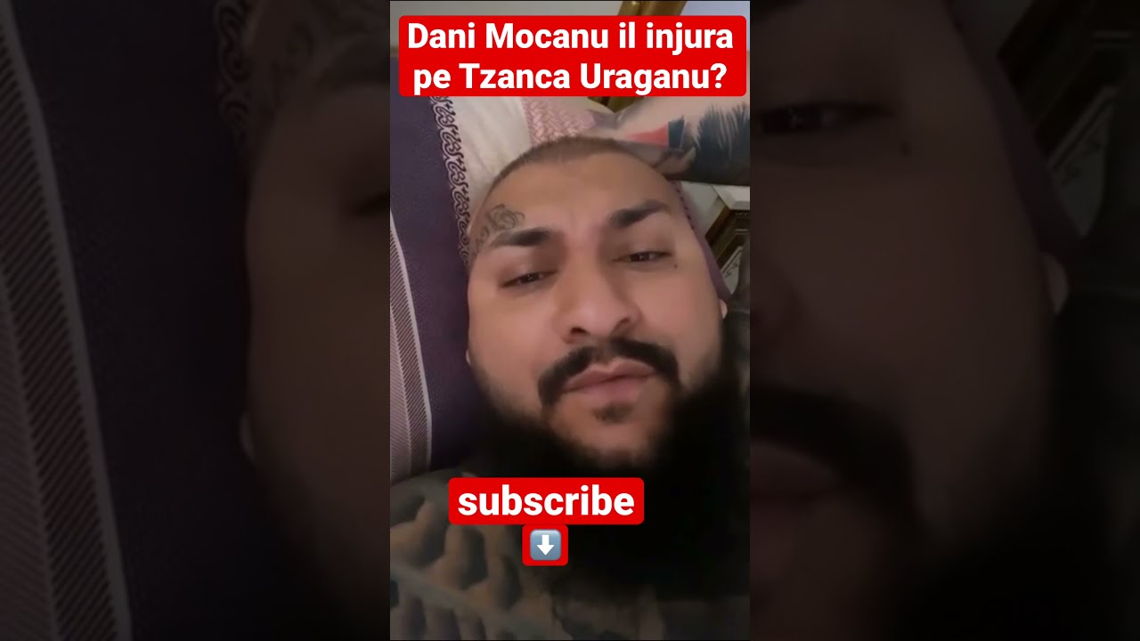 Dani mocanu il injura pe Tzanca Uraganu? ?? #tzancauraganu #danimicanu #mocanu #uraganu