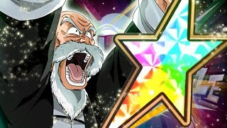 INSANELY BUSTED 628% ATTACK BUFF! 100% RAINBOW STAR MASTER ROSHI SHOWCASE! (DBZ: Dokkan Battle)
