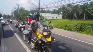 Maran Rider Ride To Danok Thailand...#Merdeka 2016