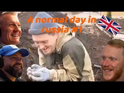A Normal Day In Russia #1 REACTION!! | OFFICE BLOKES REACT!!