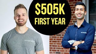 $505K IN A YEAR? How to go from $0 to $505,000+ Online with Andrew Kroeze