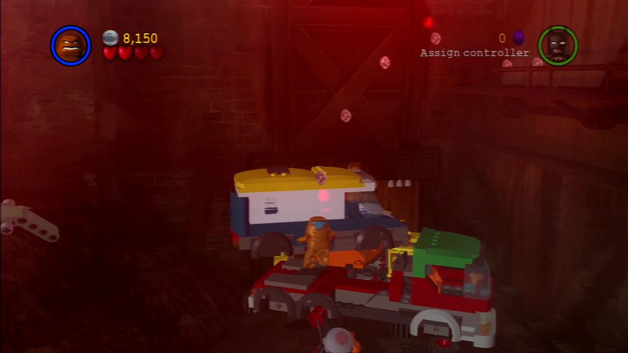 LEGO Batman   Part #25 - x2 Red Brick - YouTube